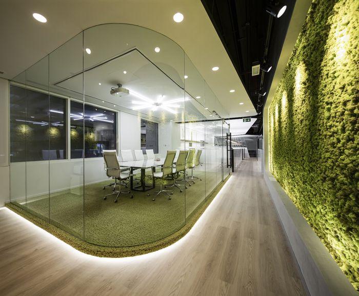Swiss Bureau Interior Design EzeLink Telecom Offices