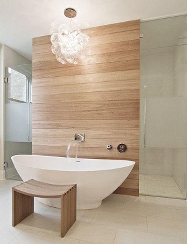 50 Teak Bathroom Ideas 55