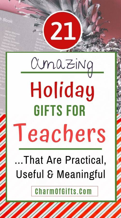 Holiday Gifts For Teachers Useful, Practical & Inexpensive ...