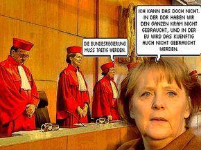 Bundesverfassungsgericht Wahlen Seit 1956 Ungültig