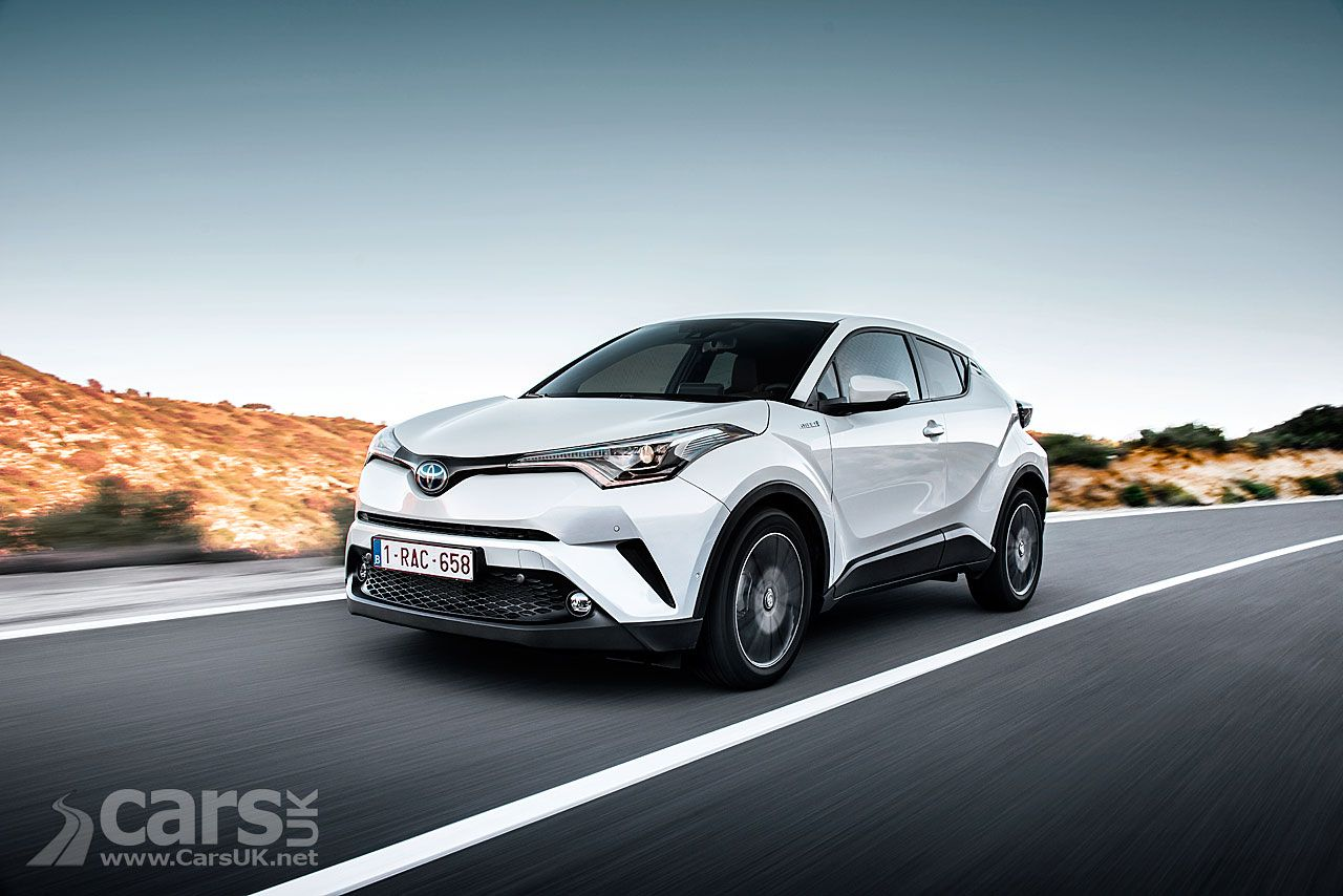 Toyota's average CO2 emissions in the UK DROP in 2017