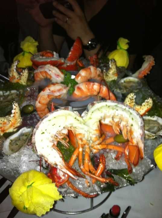 Mastro S Steakhouse Food Top Restaurants Seafood Tower