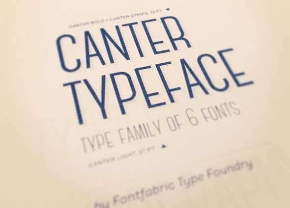 Canter-free-font