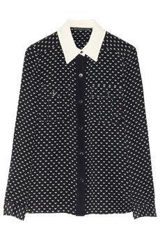 e559dd169e29d1 Vivie printed silk shirt by Marc by Marc Jacobs