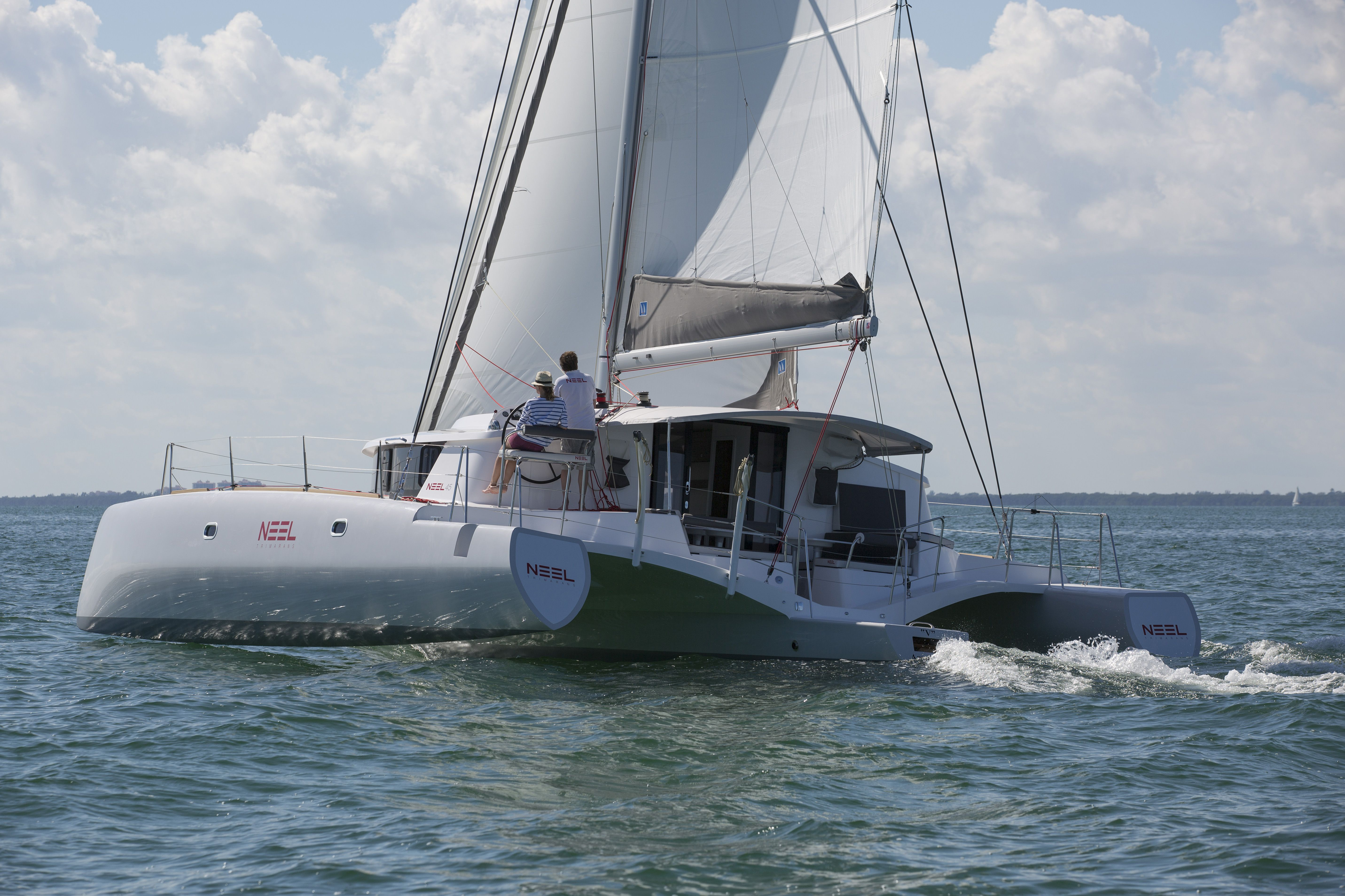 Trimaran segeln  Neel 45 trimaran in Miami FL | Trimaran | Pinterest | Miami
