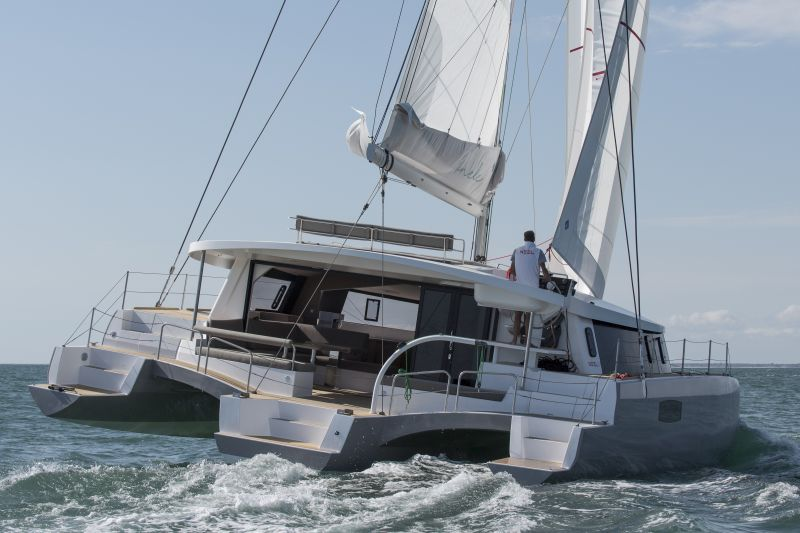 Neel 51 is a fast and very spacious cruising trimaran | Neel