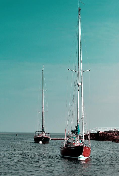 Sailing boats in Gloucester