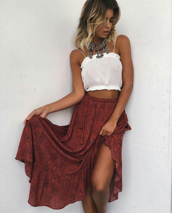 Bohemian Skirt 9