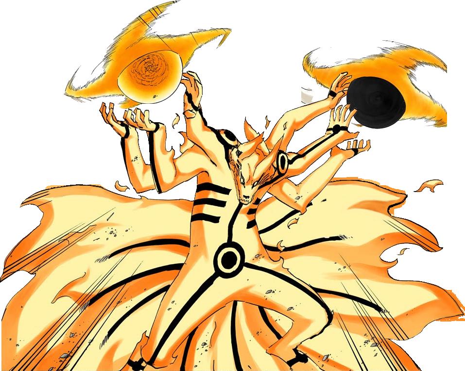 Naruto Six Paths Biju Mode Render by ShardRaldevius | Team 7