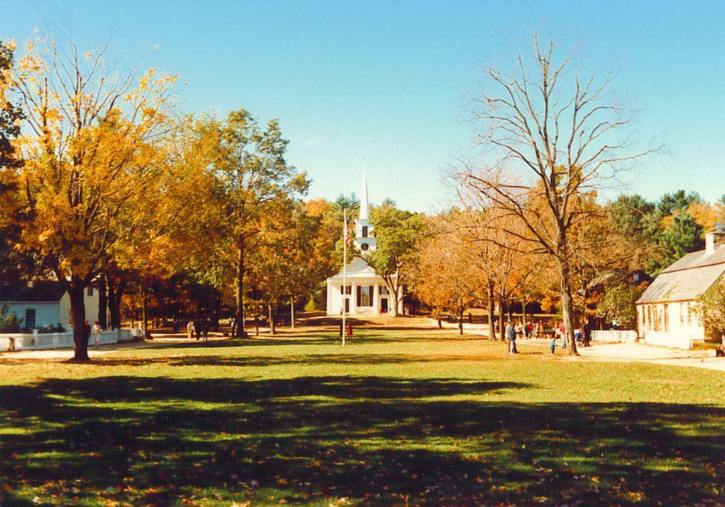 The Green at Old Sturbridge Village, Sturbridge, Massachusetts