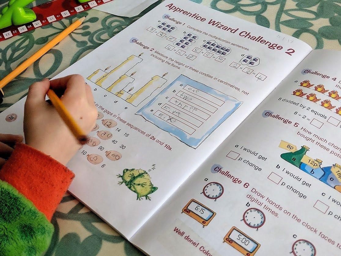 Letts Education Spelling Amp Maths Workbooks