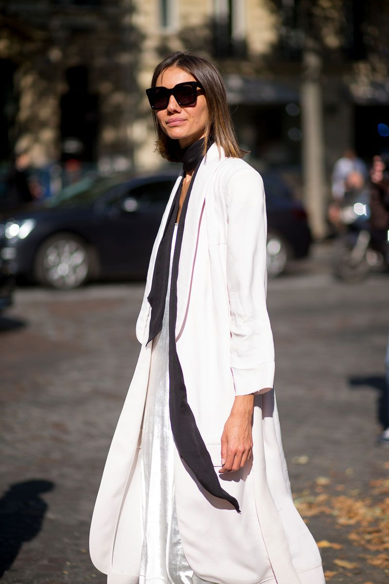 The Paris Way: Fashion Week Street Style  - HarpersBAZAAR.com