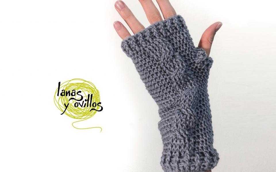 Dorable Crochet Patrón De Punto Trenzado Friso - Manta de Tejer ...