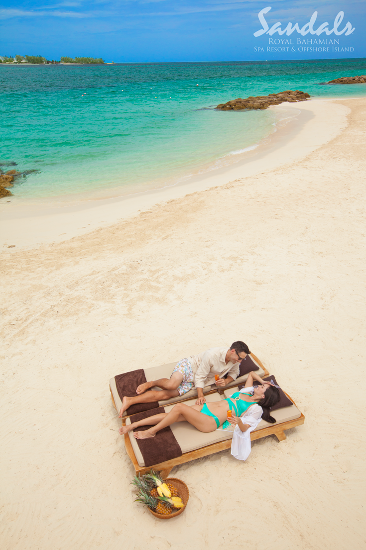 073349f44365 Love is all you need at Sandals Royal Bahamian! There is no better place to  celebrate a honeymoon