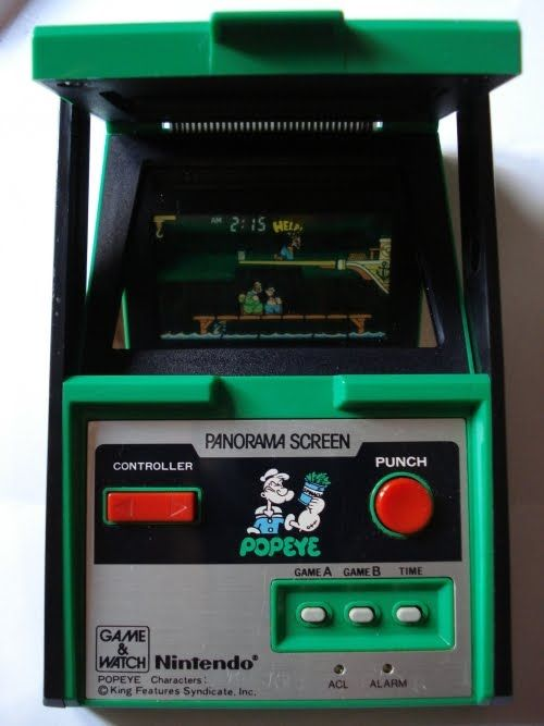 Popeye Game And Watch Videojuegos Online Juguetes Antiguos Juguetes