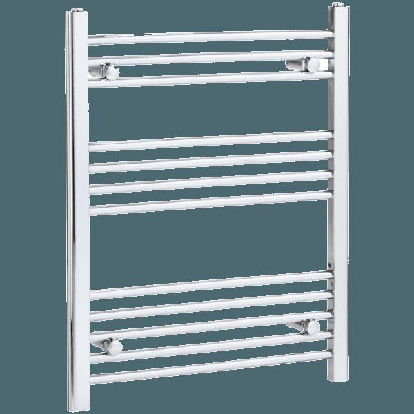 Dual Fuel Heated Towel Rail 750 x 600mm Flat Manual