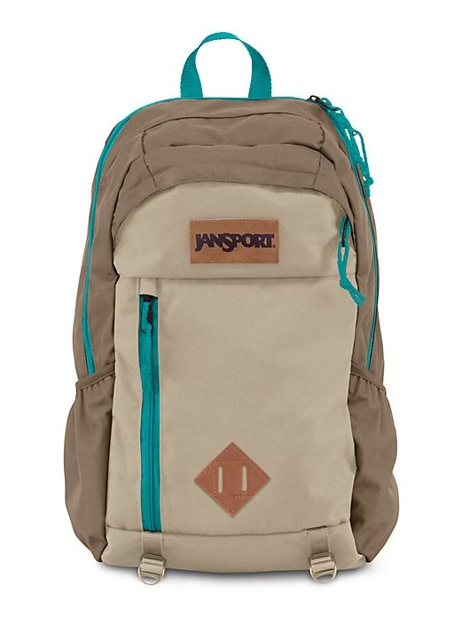 f9d0f4e8f5 The new JanSport Fox Hole Backpack in Bozeman Brown features a side-access  laptop sleeve and duel water bottle pockets. Great for any outside or  weekend ...