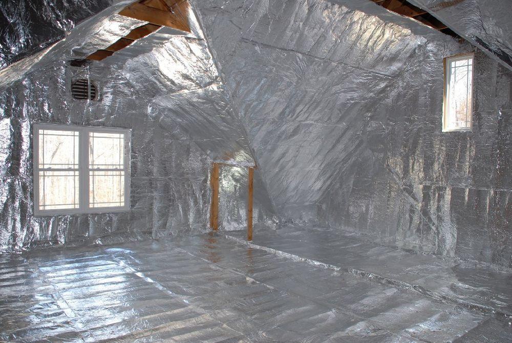 1000sqft Radiant Barrier Solar Attic Foil Reflective Nasa Insulation 2x500 Perf Ebay Attic Insulation Attic Renovation Radiant Barrier