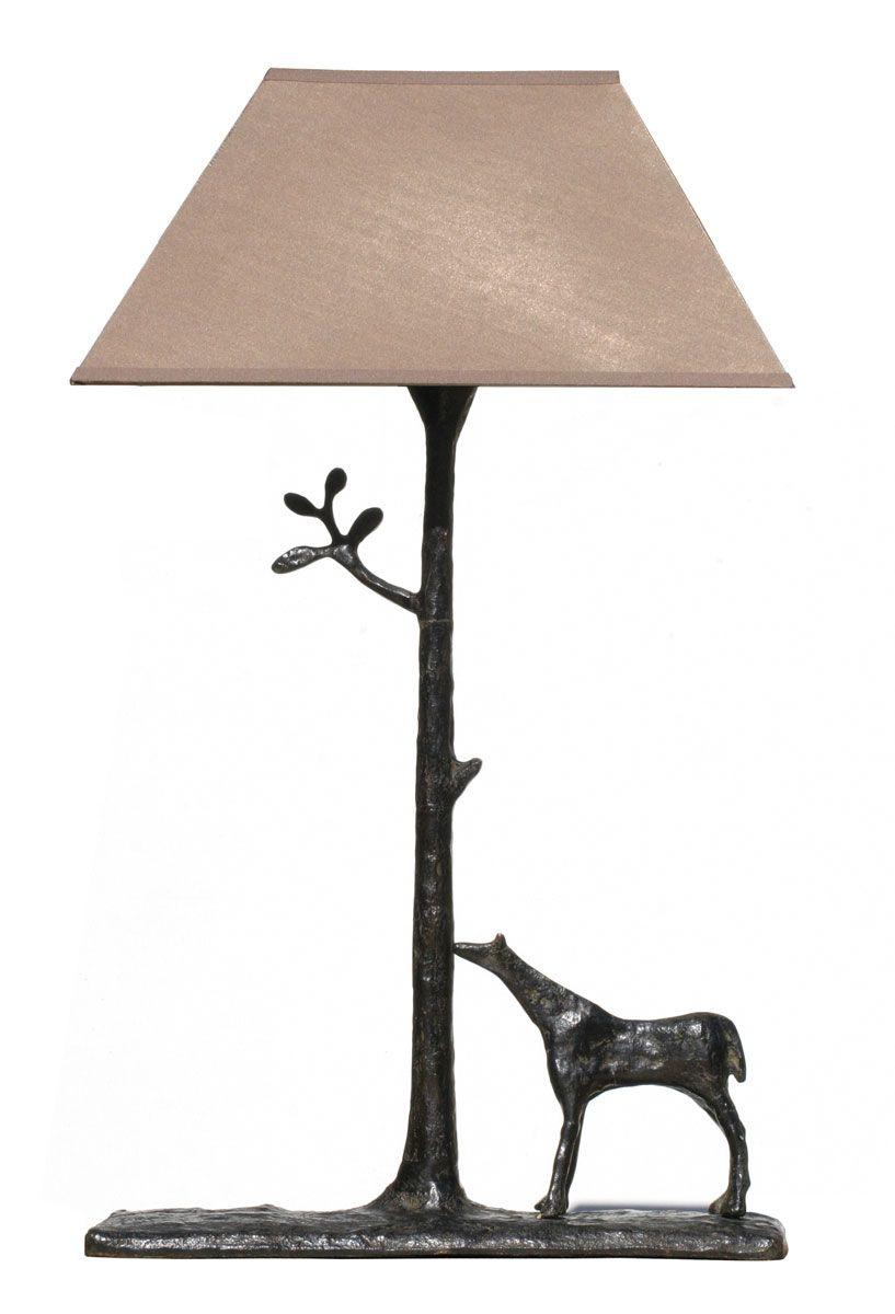 Lampe Cheval - Cast Bronze antique finish