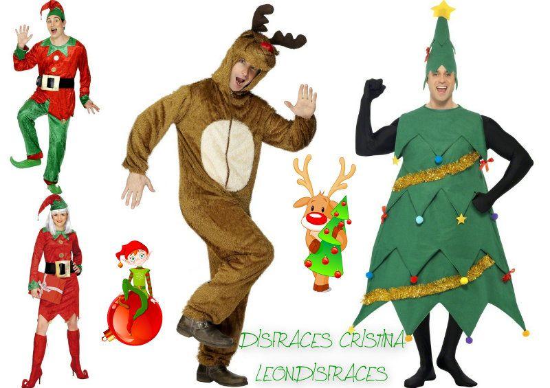 Christmas #costumes . #disfraces para Navidad. Todo en www.leondisfraces.es