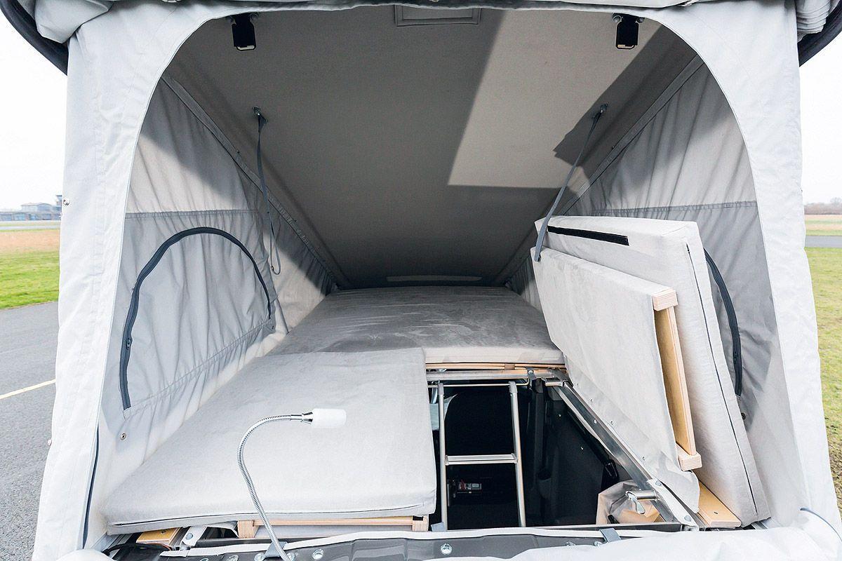 nissan nv200 als wohnmobil test. Black Bedroom Furniture Sets. Home Design Ideas