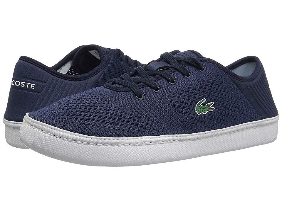 add0929eeea6 Lacoste L.YDRO Lace 118 1 (Navy White) Men s Shoes. Show off your ...