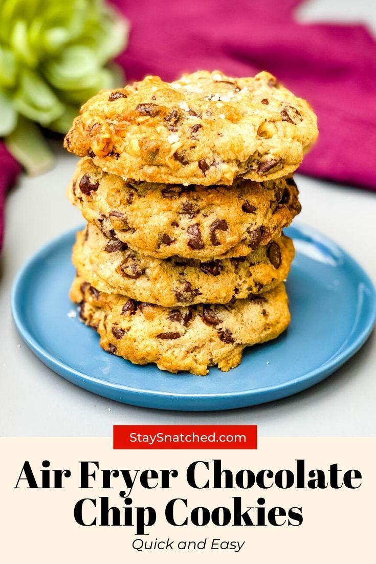 Easy Air Fryer Chocolate Chip Cookies in 2020 Air fryer