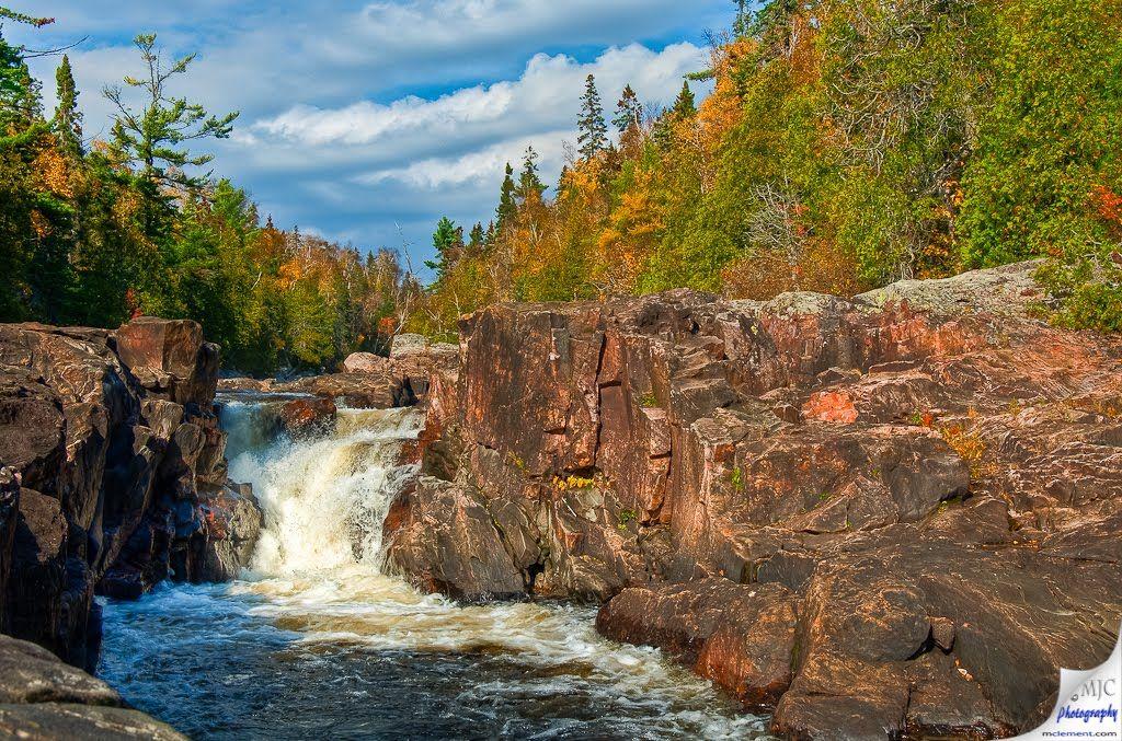 Sand River Falls Lake Superior Provincial Park Lake Superior River Falls Lake