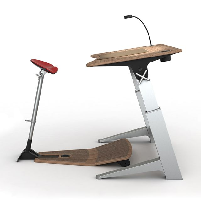Upright Work Desk Stool Standing Up While You Work Is Probably The Best Thing You Can Do Desks For Small Spaces Office Chair Design Ergonomic Desk