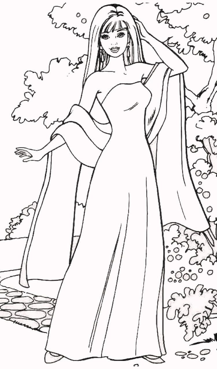 Read moreBarbie Fashion Coloring Pages Barbie coloring