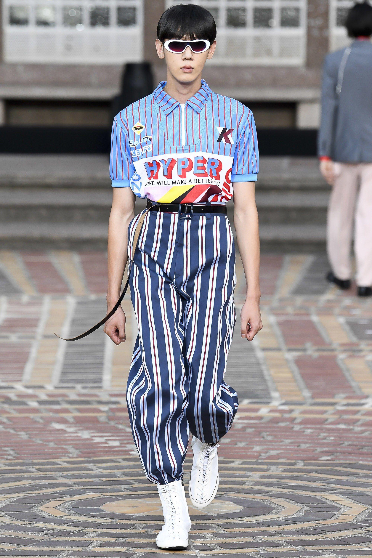 365d2e767 Kenzo Spring 2018 Menswear Fashion Show | | 18 Highlight | | Fashion ...