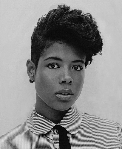 Kelis hairstyles haircuts pompadour and tapered haircut kelis tapered sides haircut winobraniefo Choice Image