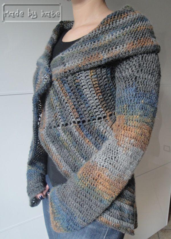 Schema Uncinetto Gratuito Cardigan Girandola Uncinetto Crochet