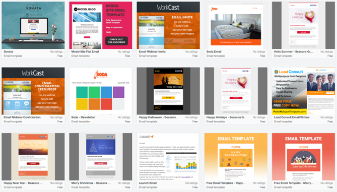 15 Of The Best Email Newsletter Templates And Resources To