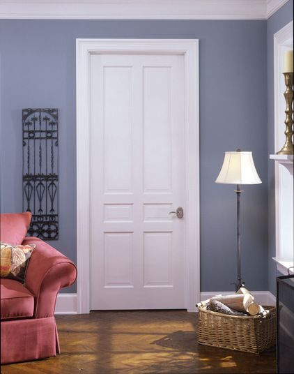 Six Panel Doors One Of The Most Common Door Styles Is The Six Panel.  Traditional Interior ...