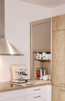 Einbauküche Wellmann Küche Model 107 Alva Wildahorn / Ultraweiß in ...