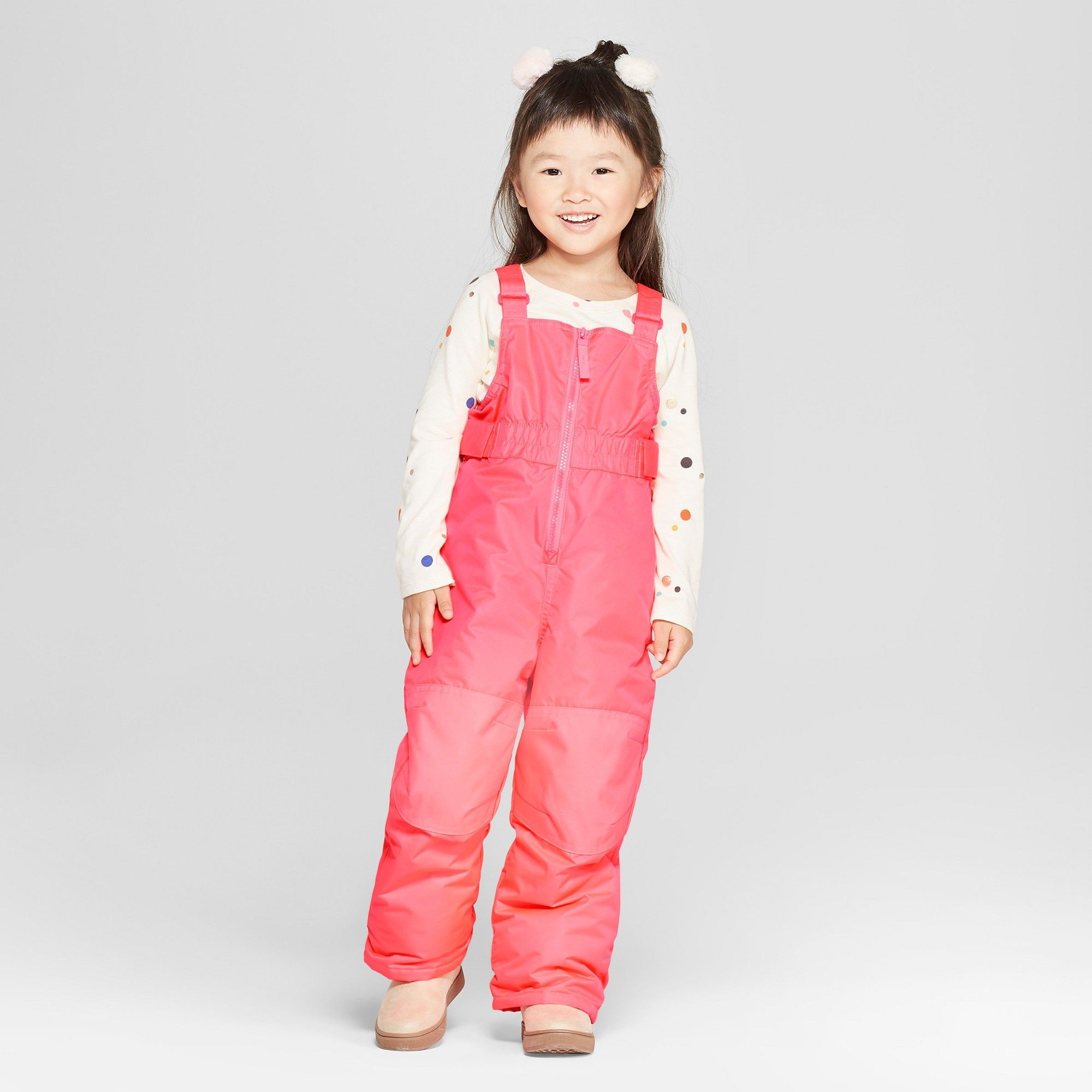 307ed8664 Toddler Girls  Snow Pants - Cat   Jack Pink 4T