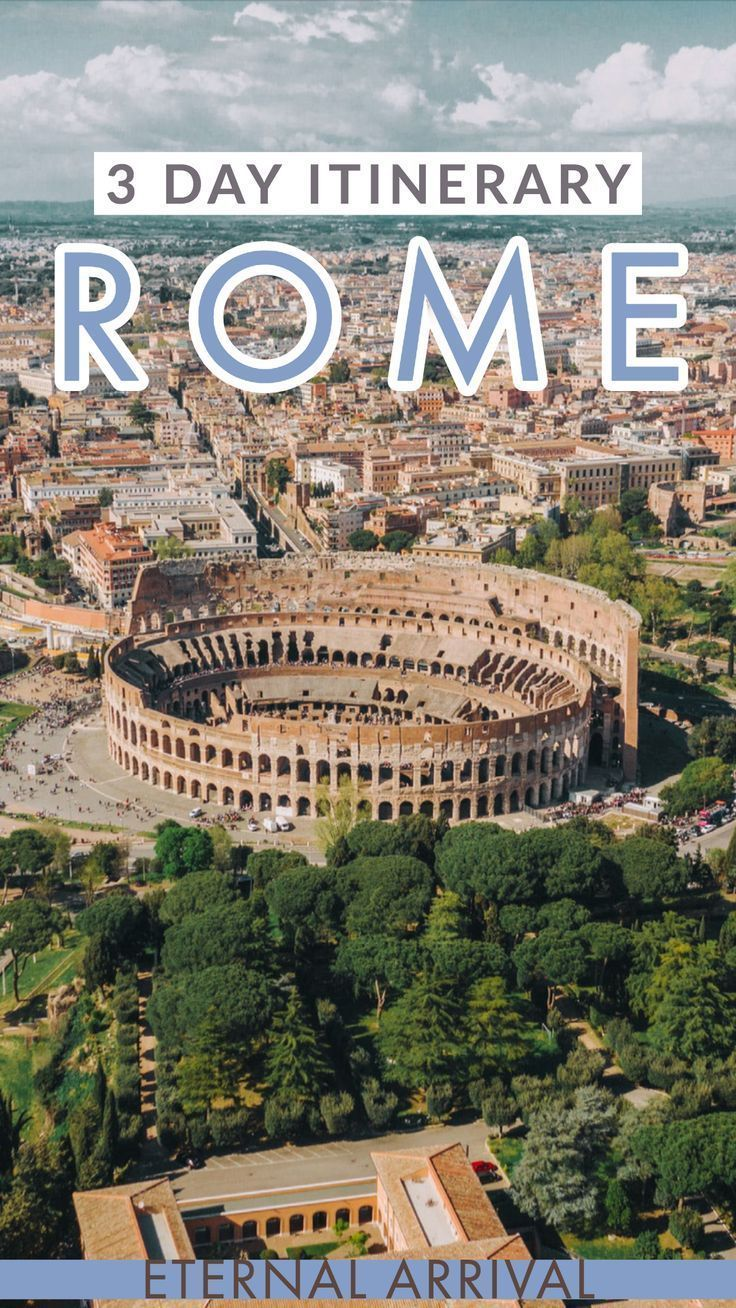 3 Days In Rome: Itinerary For A Perfect Trip
