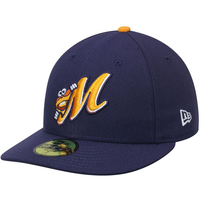 5f930989 Montgomery Biscuits New Era Home Authentic Collection On-Field Low ...