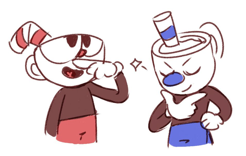Madre mia Willy, i few more doodles of the cup bros uvu