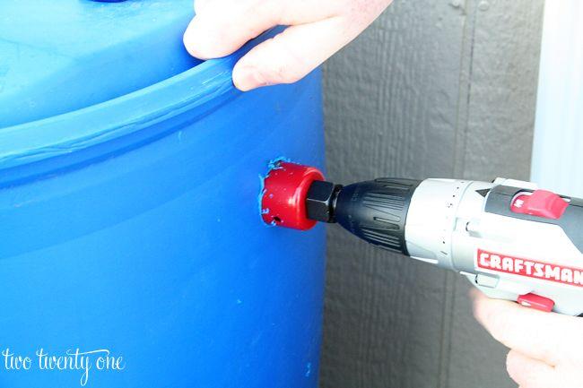 Rain Barrel How To {Harvesting Rainwater} - Two Twenty One