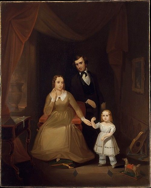 The Williamson Family by John Mix Stanley, 1841-42 US (New York?), the Met Museum