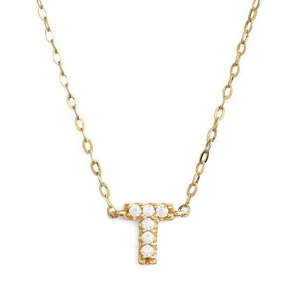 Womens nadri cubic zirconia initial pendant necklace 48 liked womens nadri cubic zirconia initial pendant necklace 48 liked on polyvore featuring jewelry aloadofball Choice Image
