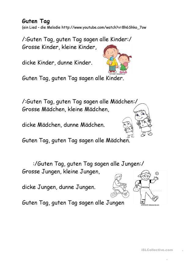 Meine Familie | Morgenkreis | Kindergarten lieder ...