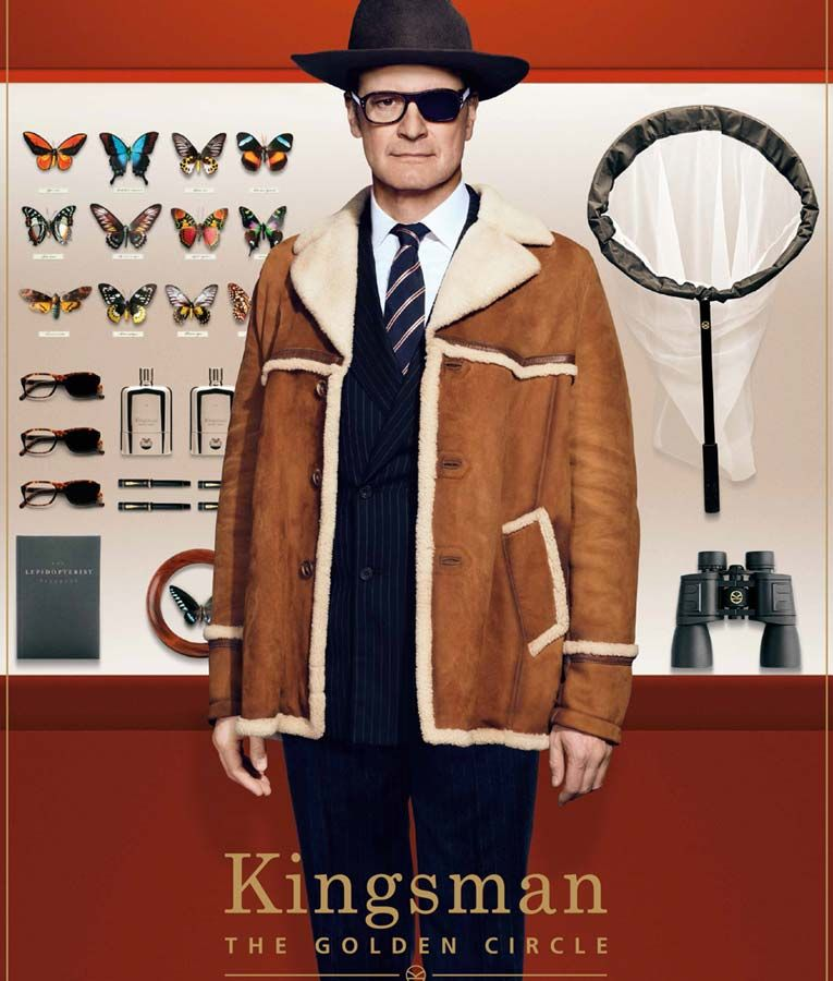 Kingsman The Golden Circle Colin Firth Harry Hart Jacket Usa Jacket Kingsman Harry Kingsman The Golden Circle Kingsman Costume