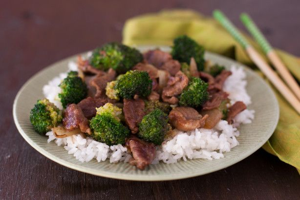 THE best-tasting easy beef and broccoli stir-fry. I like it with noodles rather than rice.