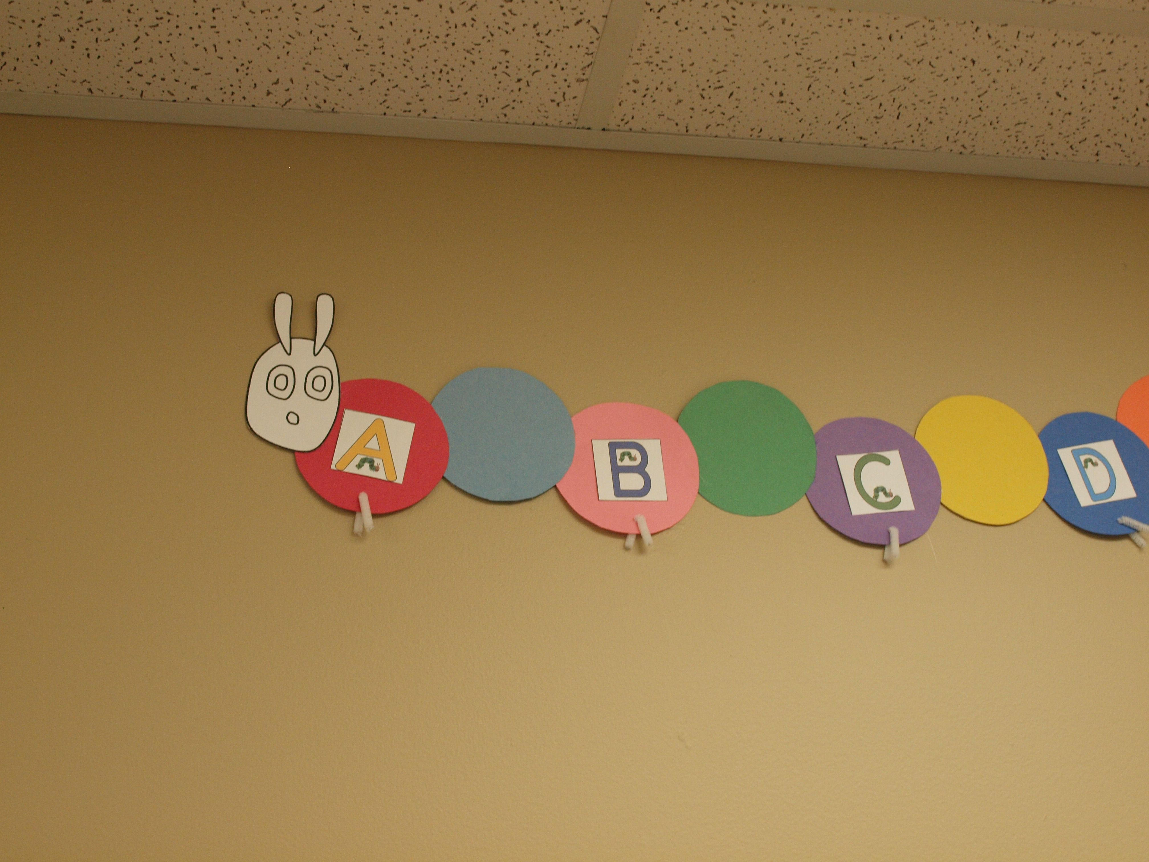 Eric Carle Themed Word Wall Here Is The Link To Get The