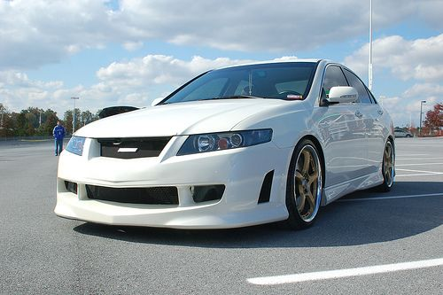 Acura TSX Accord Euro R MUGEN Body Kit By ACCOLADE - Acura tsx euro r