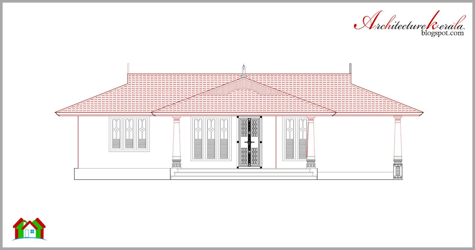 House Plan And Elevation In Kerala Style House Plans With Photos House Plans Kerala Houses