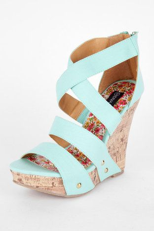 Mint wedges - love!!